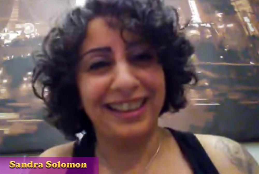 Toni Bugle chats to Sandra Solomon — Palestinian who lived in Saudi Arabia — now in Canada