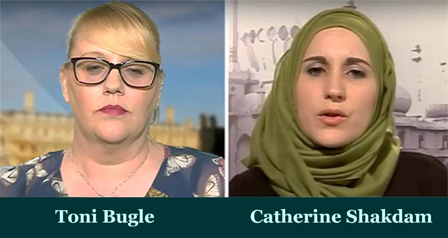 Toni Bugle & Catherine Shakdam on Austrian President's Muslim Headscarf Idea for All Women